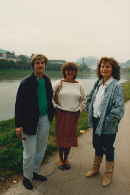 Reise nach Salzburg 1986