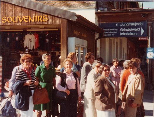 Reise nach Mürren-Grindelwald, 1982