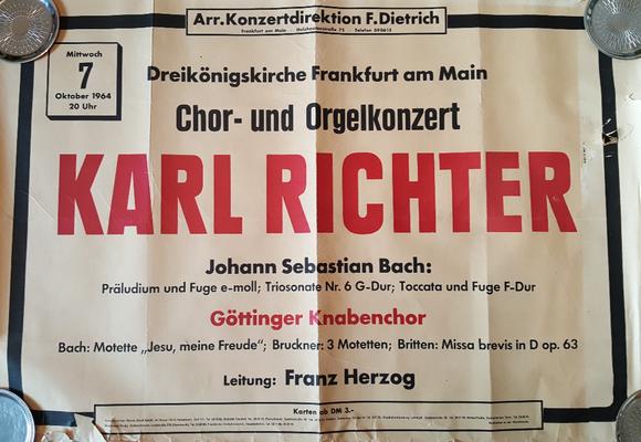 Erste Konzertreise als Knabenchorist