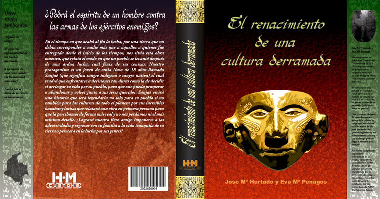 Trabajo para la clase de Diseño de creación de portada de libro e historia del mismo.