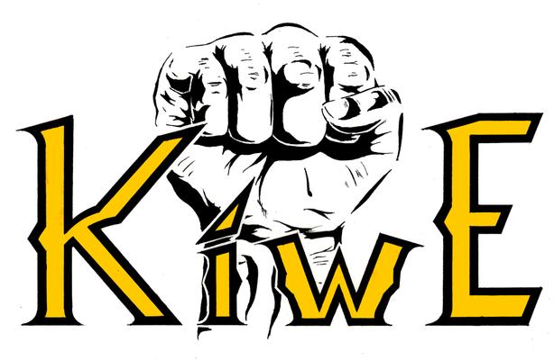Diseño a mano de un logotipo (trabajo para la clase de diseño).