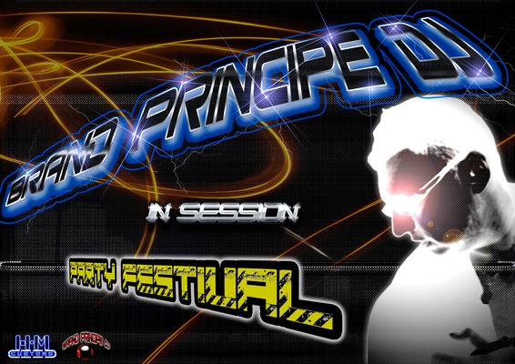 Diseño realizado para DJ Brand Príncipe de  la disctoteca La Bamba.