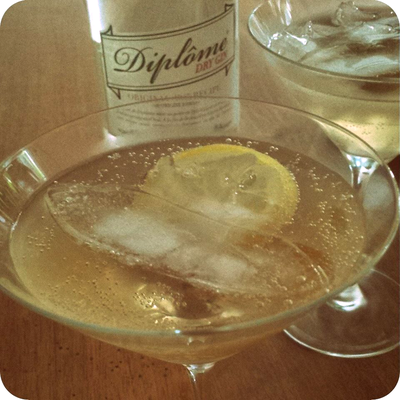Gin Buck Cocktail with Diplôme Dry Gin