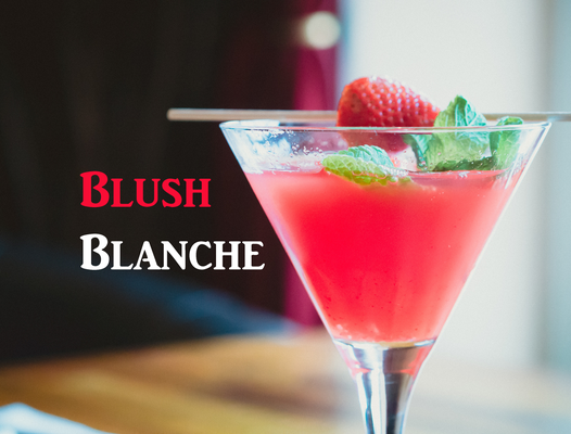 Blush Blanche with Delord Blanche Armagnac