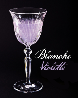 Blanche Violette cocktail