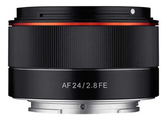 Samyang AF24mm F2.8 FE (Quelle Samyang)