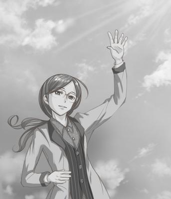 『あなたのための希望のうた 第8話』挿絵:じゅボンバー
