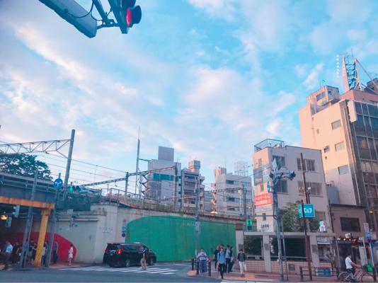 横断歩道を目白通り沿いに歩き、東京メトロ地下鉄出入り口(A2)が向かい側正面に見えます。