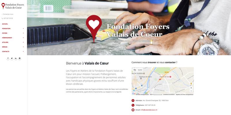 Fondation Foyers Valais de Cœur - Photos © Nathalie Pallud - Palprod.ch