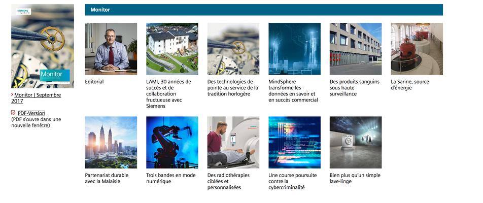 Siemens Magazine / LAMI - Photo © Nathalie Pallud