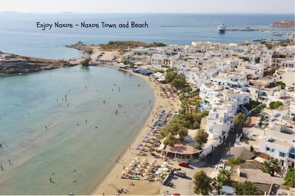 The best beach of Naxos especially for children
