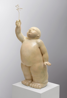 Ofrena               -              bronze             -               140x50x50cm.