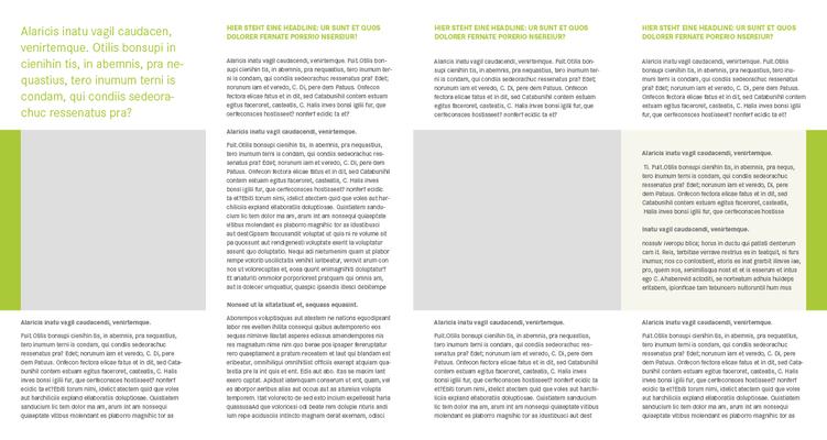 Beispiel Folder A5/6, 8-seitig, innen