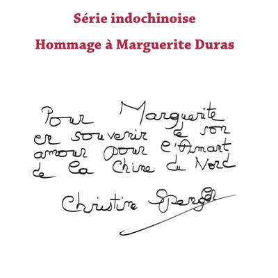 Christine Spengler - Hommage à Marguerite Duras