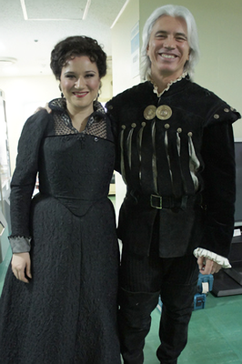 June 15, 2011 (MET Japan Tour _ Verdi : Don Carlo ) : photo by Japan Arts