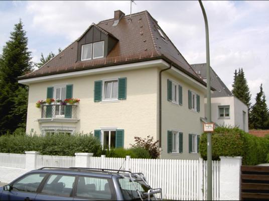 Außenanstrich für ein Einfamilienhaus