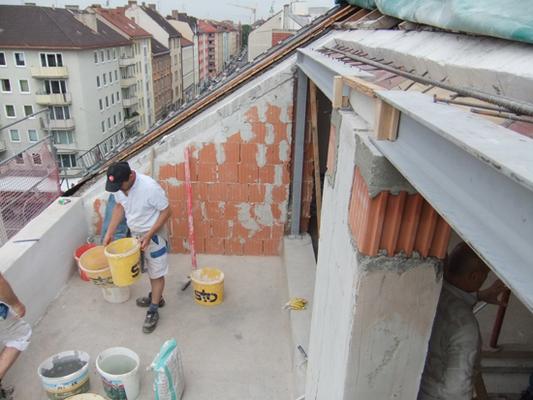 Wohnraumgewinnung durch Dachgeschossausbau in München