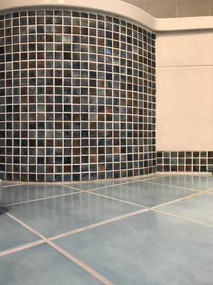 Wertvolles Mosaik im Detail
