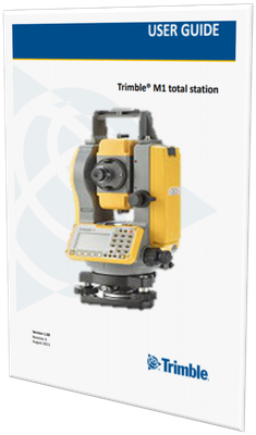 MANUAL DE USUARIO ESTACION TOTAL TRIMBLE M1