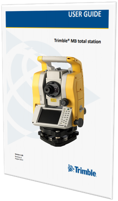 MANUAL DE USUARIO ESTACION TOTAL TRIMBLE M3