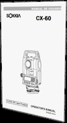 MANUAL DE USUARIO ESTACION TOTAL SOKKIA CX-62