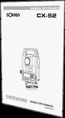 MANUAL DE USUARIO ESTACION TOTAL SOKKIA CX-52