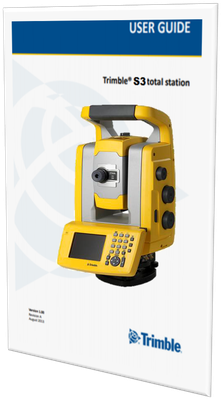 manual de usuario trimble s3