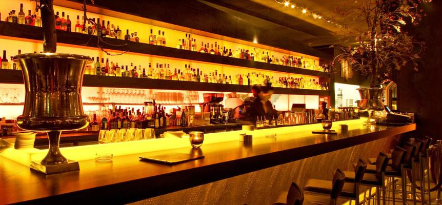 Restaurant MEERBAR                           I                                 Planung. Kolbe                                           I                               Foto: A. Kost