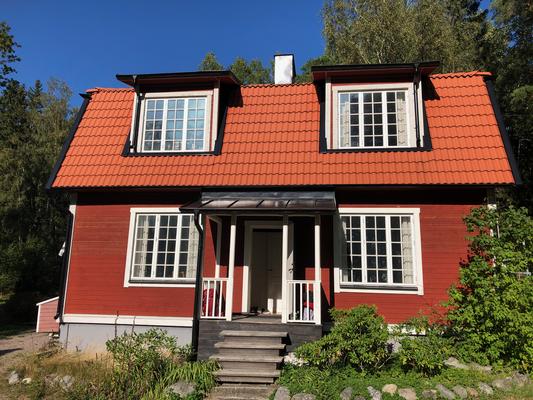 Das Haus in Marieudd, in dem Konrad mit seinen Mitprakatikantinnen viele Wochenenden verbracht hat