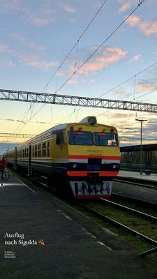 Ausflug nach Sigulda mit dem Zug