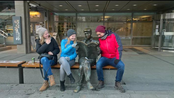 Unterwegs in Oslo mit Tabea und Martin