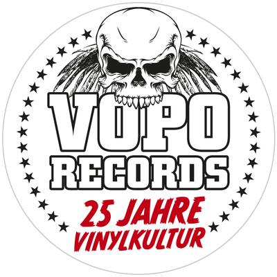 Bierdeckel für VoPo-Records (Buchdruck/Hochdruck)