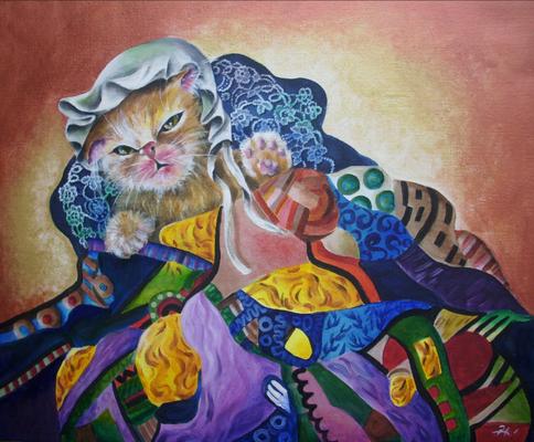 Klimts Baby 50x60