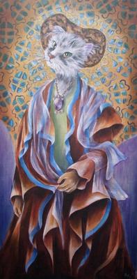 Hommage à Klimt 40x80