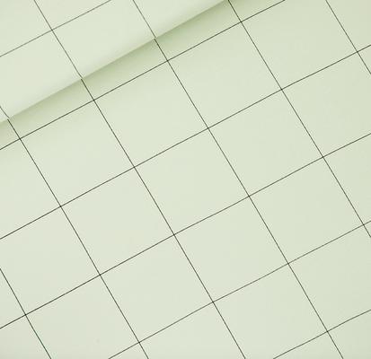 Thin Grid - Fog Green