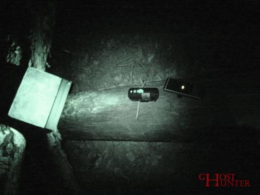 Foto vom Testaufbau des einfachen Movetests/Tafeltests. #ghosthunters #ghosts #paranormal #geister