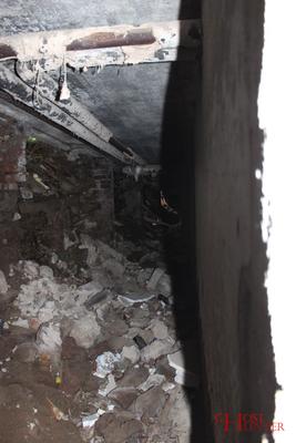 Ein Blick in den demolierten Vorbau des Kellergeschosses. #Ghosthunters #paranormal #ghosts #geister