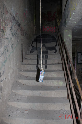 Treppe ins nächsthöhere Stockwerk. #Ghosthunters #paranormal #ghosts #geister