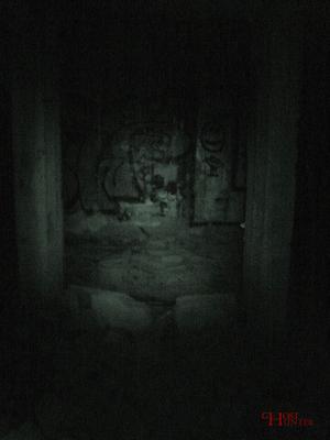 So sieht eine solche Umgebung dann nachts im IR-Licht aus. #Ghosthunters #paranormal #ghosts #geist