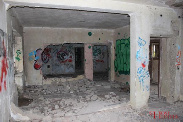 Überall zieren Graffiti die Wände. #Ghosthunters #paranormal #ghosts #geister