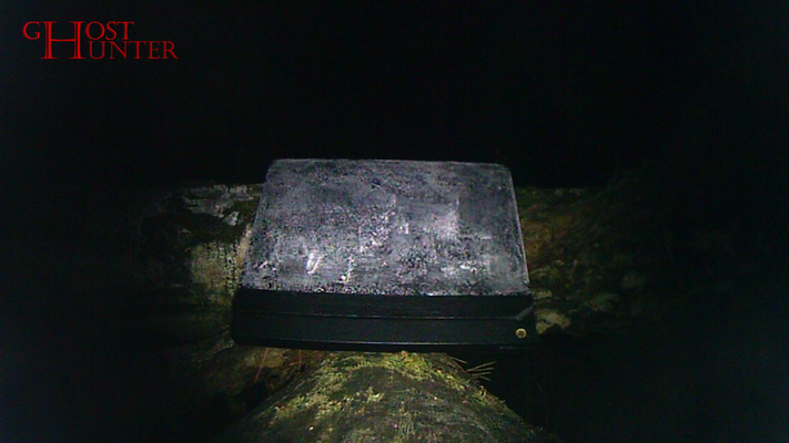 So sieht dann die Aufnahme der Actioncam aus, die später ausgewertet wird. #ghosthunters #ghosts #paranormal #geister
