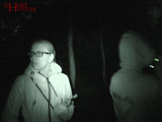 Bei der zweiten ESP-Sitzung auf dem Weg. Auf diesem Foto haben wir alle etwas interessantes entdeckt, sind aber der Meinung, es handelt sich um Pareidolie. Na, wer sieht es? ;) #ghosthunters #ghosts #paranormal #geister