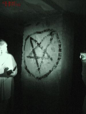 Auch hier im Keller übernahm Nicole die Überwachung der Temperatur bei der ESP-Sitzung. #Ghosthunters #paranormal #ghosts #geist