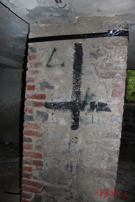 Möchtegern-Satanismus im Keller. #Ghosthunters #paranormal #ghosts #geister