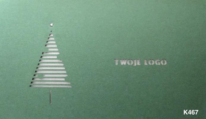 Weihnachtskarte 2018 mit Firmenlogo für Ihr Geschäftskunden
