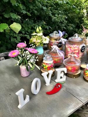 Alma Cilurzo Hochzeitssängerin Hochzeitslocation Schlosshotel Merlischachen Trauung am See Candy Bar Love