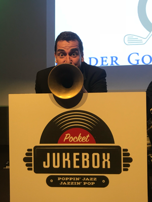 Alma Cilurzo Jazzsängerin mit Jazz Band Pocket Jukebox Peter Wespi Zürich Dolder