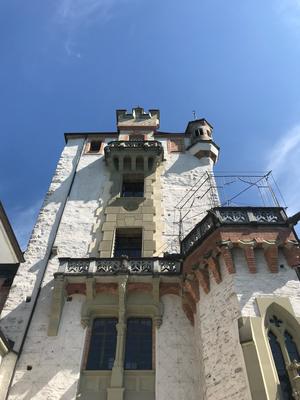 Alma Cilurzo Hochzeitssängerin Hochzeits-Location Bern Thunersee Schloss Oberhofen Thun Fassade Aussenansicht