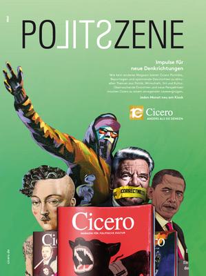 CICERO Anzeige Politszene