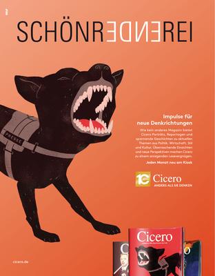 CICERO Anzeige Schönrednerei